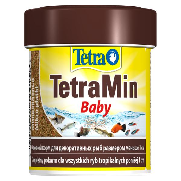 Тетра Корм TetraMin Baby для мальков, мелкая крупа, 66 мл, Tetra