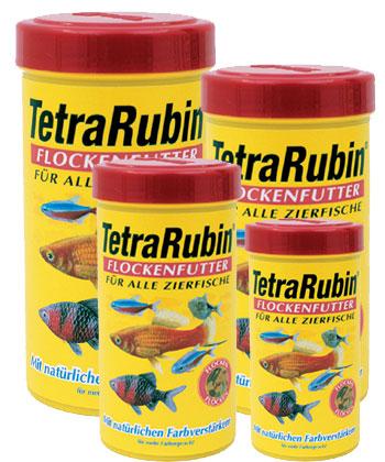 Тетра Корм TetraRubin для улучшения окраса всех видов рыб, хлопья, 5 весовок, Tetra