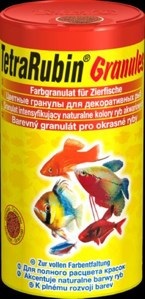 Тетра Корм TetraRubin Granules для улучшения окраса всех видов рыб, гранулы, 2 весовки, Tetra