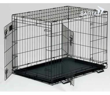 Мидвест Клетка металлическая двухдверная Life Stage Double Door (замок-задвижка), в ассортименте, Midwest
