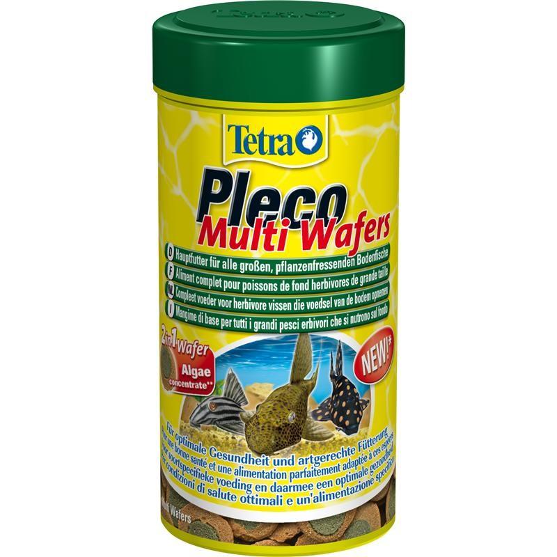 Тетра Корм Pleco Multi Wafers для крупных травоядных донных рыб, таблетки, 2 весовки, Tetra