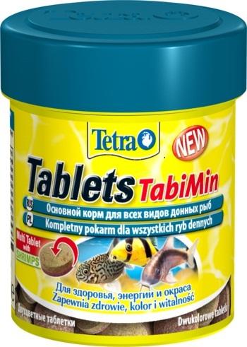 Тетра Корм Tetra Tablets TabiMin для всех видов донных рыб, таблетки, в ассортименте, Tetra