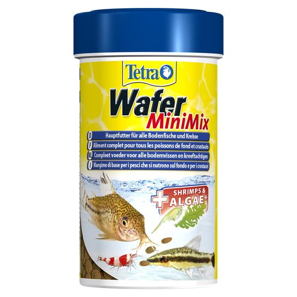 Тетра Корм TetraWaferMix Mini для всех донных рыб, мелкие чипсы, 100 мл, Tetra
