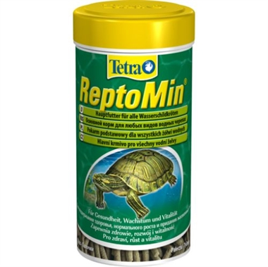 Тетра Корм Tetra ReptoMin в палочках для водных черепах, в ассортименте, Tetra