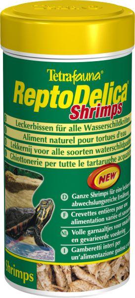 Тетра Корм-лакомство Креветки ReptoMin Delica Shrimps для водных черепах, а также насекомоядных животных и птиц, в ассортименте, Tetra