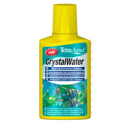 Тетра Средство для очистки воды Crystal Water от всех видов мути, 2 объема, Tetra