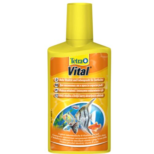 Тетра Кондиционер Tetra Vital для создания и поддержания естественных условий в аквариуме, 3 объема, Tetra