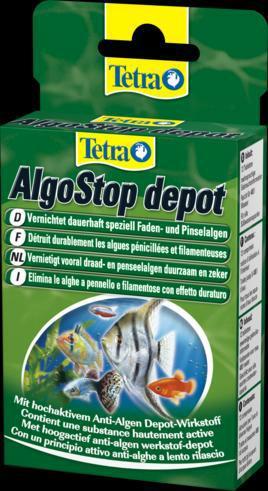 Тетра Средство AlgoStop Depot против нитчатых водорослей длительного действия, 12 таб., Tetra