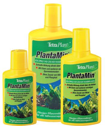 Тетра Жидкое удобрение для растений PlantaMin с железом и другими микроэлементами, 3 объема, Tetra