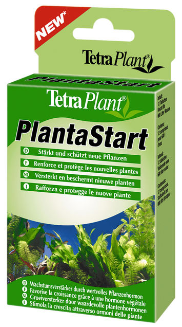 Тетра Удобрение для растений PlantaStart, стимулирует рост корней растений, укрепляет сопротивляемость заболеваниям, 12 таб., Tetra