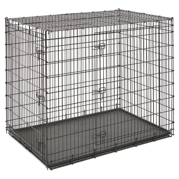 Мидвест Металлическая двудверная клетка для собак гигантских пород Grate Ginormus (Solutions), 137*94*114 см, Midwest