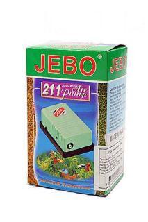 Джебо Компрессор JEBO-211 одноканальный, производительность 1,6 л/мин., до 50 л, Jebo