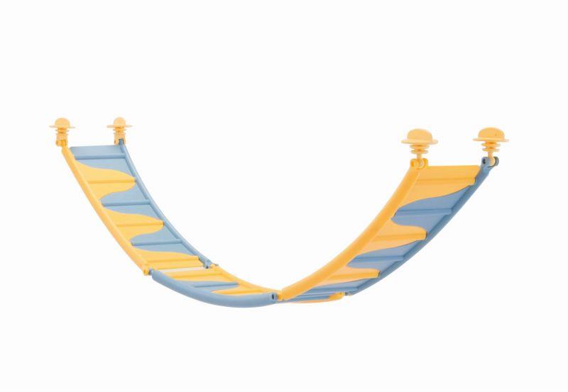 Имак Лестница пластмассовая сборная для грызунов Tibetan Bridge, 20,5*6,5*10 см, в ассортименте, Imac