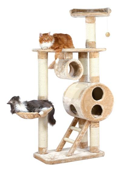 Трикси Комплекс для кошки Mijas, 76*46*176 см, плюш, Trixie