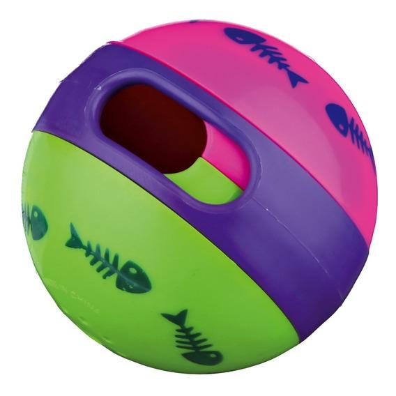 Трикси Мяч с отверстием для лакомств, для кошек, в ассортименте, Trixie