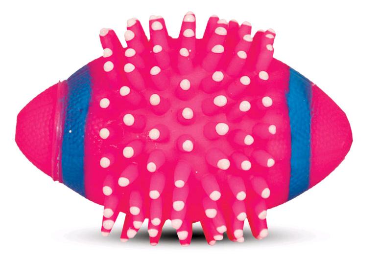 Триол Мяч регби с шипами, диаметр 12 см, Triol