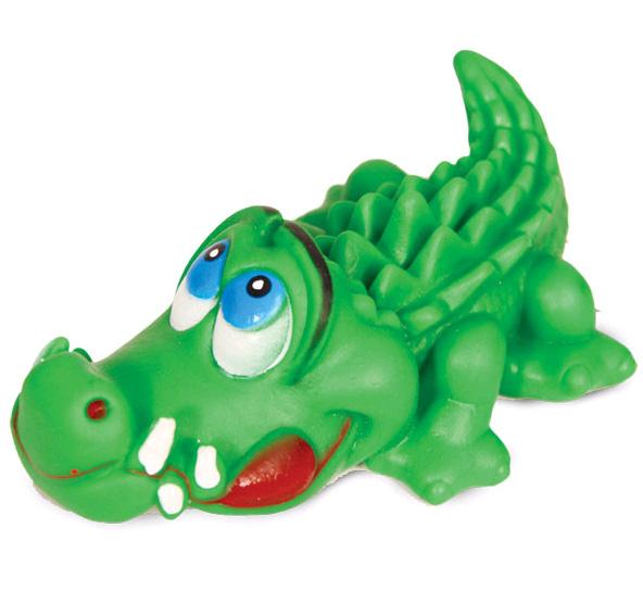 Триол Игрушка виниловая Крокодил, 14 см, Triol
