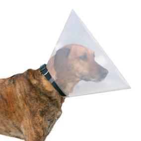 Трикси Воротник защитный ветеринарный пластиковый прозрачный, 7 размеров, Trixie