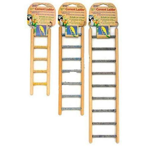 Пенн Плекс Лестница для птиц со ступеньками с минеральным покрытием, 3 размера, Penn-Plax