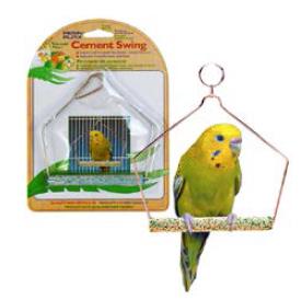 Пенн Плекс Качели для малых птиц с минеральной жердочкой, 11,5*16,5 см, Penn-Plax
