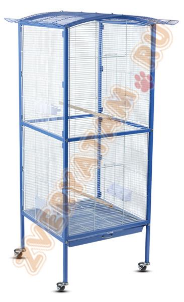 Триол Клетка-вольер BC27 для птиц и грызунов, 60*60*158 см, Triol