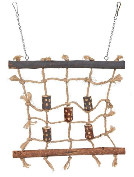 Трикси Игрушка для птиц Сеть для лазания, 27*24 см, Trixie