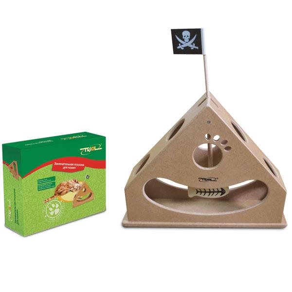 Триол Занимательная игрушка для кошек, 30*30*8 см, Triol