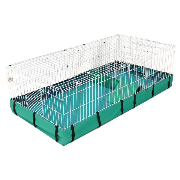 Мидвест Клетка (вольер с полом и крышей) Guinea Habitat Plus с крышей для ежей и грызунов, 120*60*36 см, Midwest