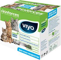 Вайо Пребиотический напиток для кошек ВСЕХ ВОЗРАСТОВ Reinforces All Ages Cat, коробка, 7*30 мл, Viyo
