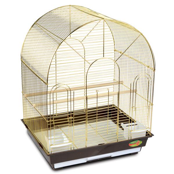 Триол Клетка 1300G для птиц, золото, 52*41*66,5 см, Triol
