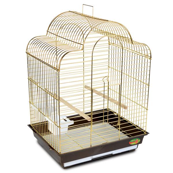 Триол Клетка 1301G для птиц, золото, 52*41*71 см, Triol