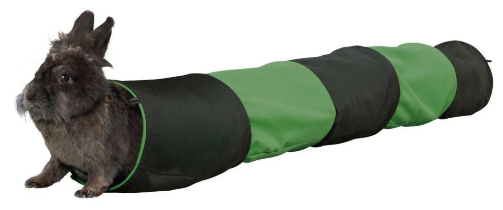 Трикси Тоннель игровой для грызунов, диаметр 18 см, длина 130 см, хлопок, Trixie