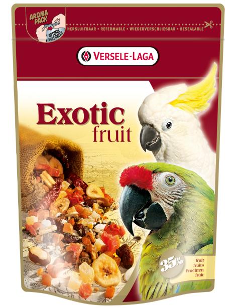 Верселе Лага Корм Exotic Fruit для крупных попугаев с фруктами, 600 г, Versele-Laga
