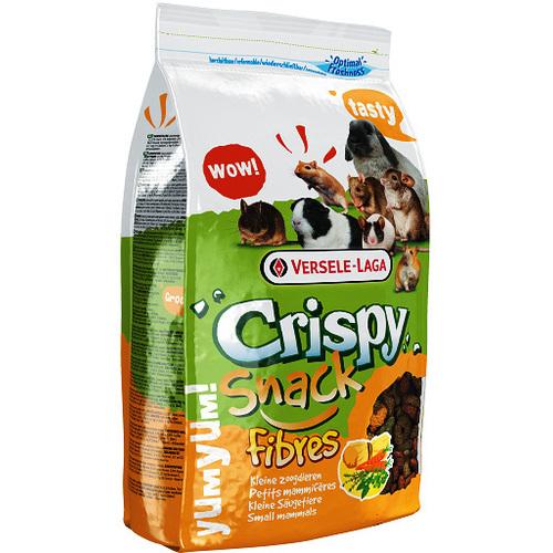 Верселе Лага Корм Crispy Snack Fibres дополнительный с клетчаткой для грызунов, 650 г, Versele-Laga