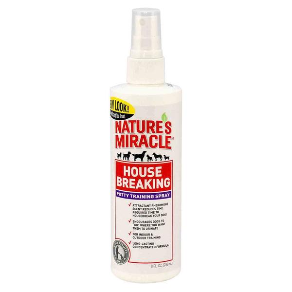 8in1 Спрей House-breaking potty training spray для приучения к туалету, 237 мл, Natures Miracle