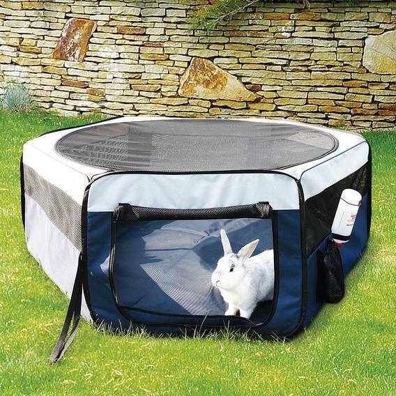 Трикси Загон тканевый щенков, котят, мелких животных со съемной крышей-сеткой и съемным непромокаемым дном, 2 размера, Trixie
