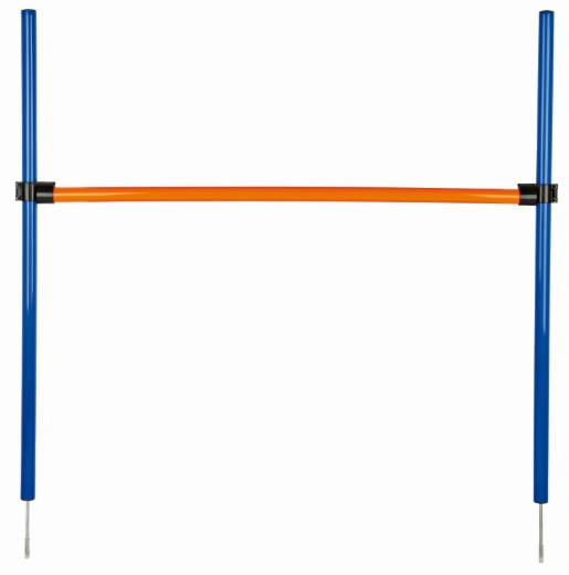 Трикси Снаряд для аджилити Jump, (ширина*высота) 129*115 см, пластик, Trixie