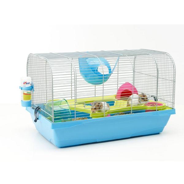 Савик Клетка для мелких грызунов Bristol, 59*38*38 см, голубой поддон, Savic