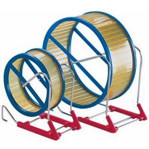 Нобби Пластиковое беговое колесо на металлической подставке, в ассортименте, Nobby