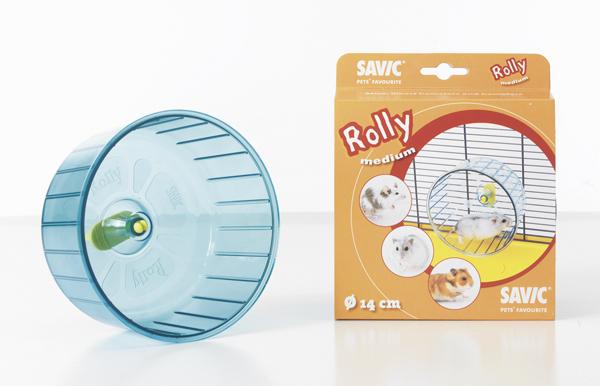 Савик Пластиковое беговое колесо Rolly для грызунов, в ассортименте, Savic