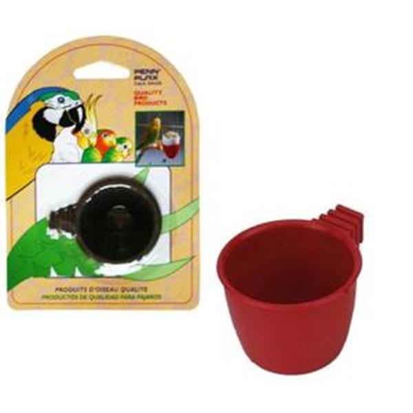 Пенн Плекс Кормушка-стакан для птиц и грызунов внутренняя круглая, 6*5*4 см, Penn-Plax