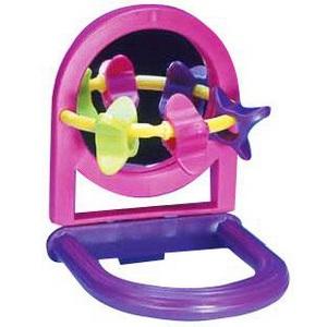 "Пенн Плекс Игрушка для птиц ""Зеркало с игрушками"", Penn-Plax"