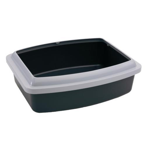 Савик Туалет-лоток Oval Tray Jumbo, 55*43*12 см с бортом для кошек, в ассортименте, Savic