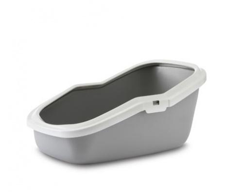 Савик Туалет-лоток Aseo с высоким задним бортиком, 56*39*27,5 см, в ассортименте, Savic