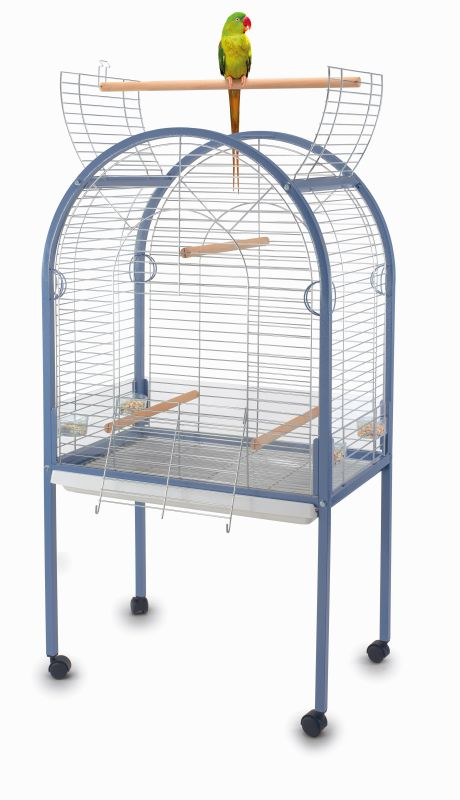 """Имак Клетка для крупных и средних птиц Amanda, оцинкованные прутья с покрытием класса """"Люкс"""", 85*54*155 см, Imac"""