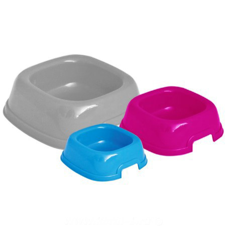 СПЕЦЦЕНА! ГеорПласт Миска пластиковая Mon-Ami для кошек и собак, 3 объема, GeorPlast