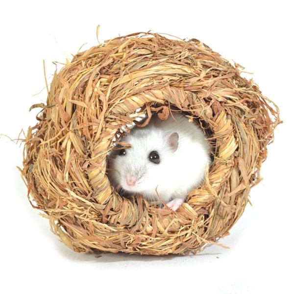 Триол Дом плетеный Шар для мелких грызунов, диаметр 10 см, Triol