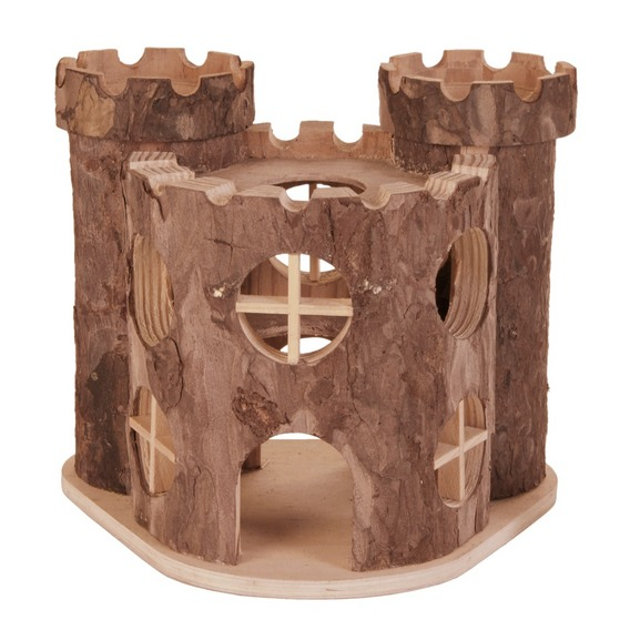 Трикси Домик для мелких грызунов Замок, 17*15*12 см, Trixie