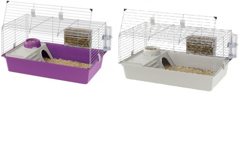 Ферпласт Клетка Cavie 80 для кроликов и морских свинок, 77*48*42 см, в ассортименте, Ferplast