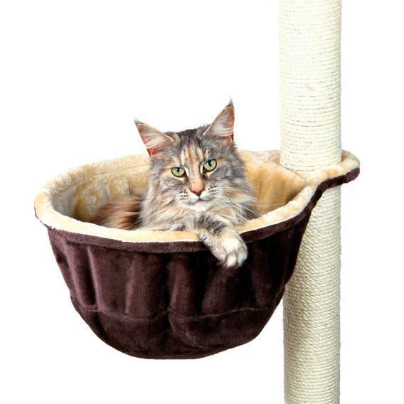 Трикси Гамак дополнительный коричнево-бежевый для кошачьего комплекса, диаметр 38 см, Trixie